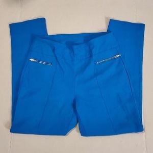 Attyre New York Womens Blue Capris Sz:10